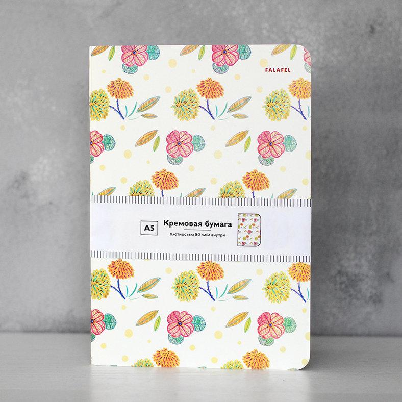 Купить Блокнот FALAFEL BOOKS А5 Flowers, Россия