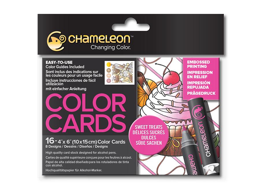 Раскраска-склейка Chameleon Sweet Treats Сладкие лакомства