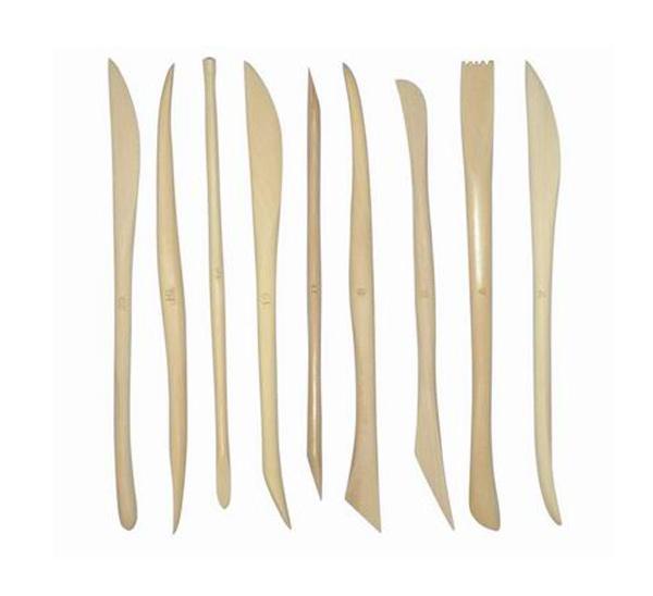 Купить Набор для моделирования стеки деревянные 9 шт 15 см, ХоББитания, Китай