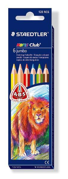 Купить Набор карандашей цветных Staedtler Noris Club Jumbo 6 цв, Германия