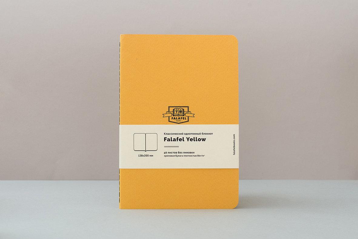 Купить Блокнот FALAFEL BOOKS А5 Yellow, Россия