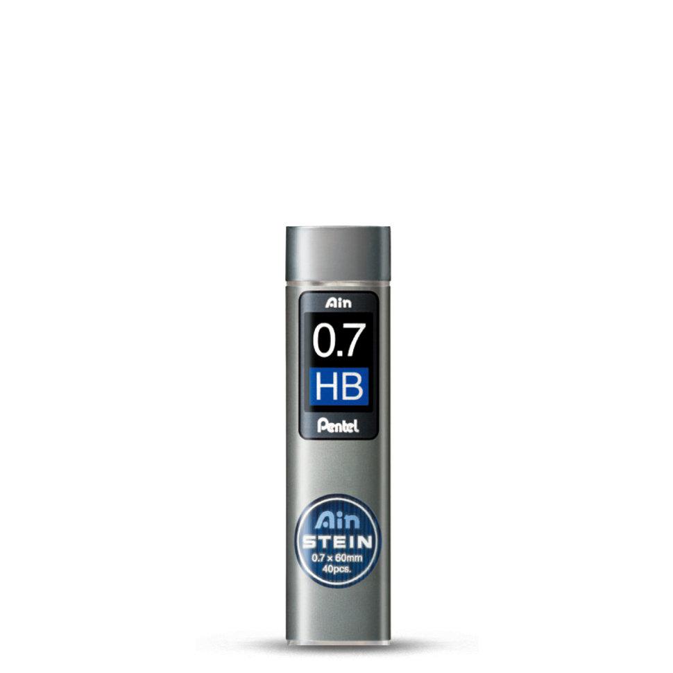Купить Набор грифелей для механического карандаша Pentel Ain Stein 40 шт 0, 7 мм, HB, Япония