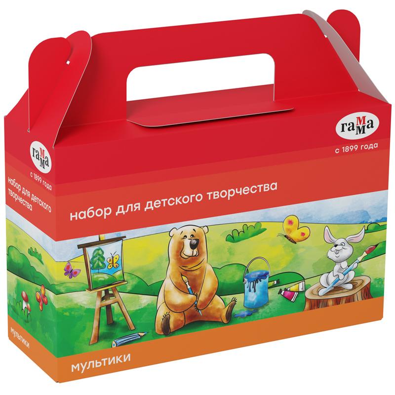 Купить Набор для детского творчества Гамма Мультики , в подарочной коробке, Россия