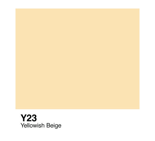 Чернила COPIC Y23 (желтовато-бежевый, yellowish beige)