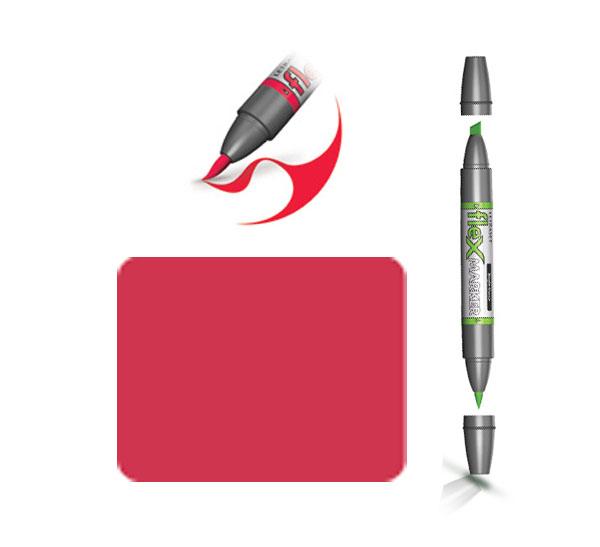 Маркер спиртовой FLEXMARKER цв. R445 красный кармазин, Winsor & Newton  - купить со скидкой