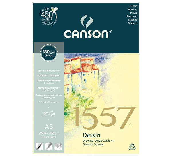 Купить Альбом-склейка для графики Canson 1557 29, 7х42 см 30 л 180 г, Франция