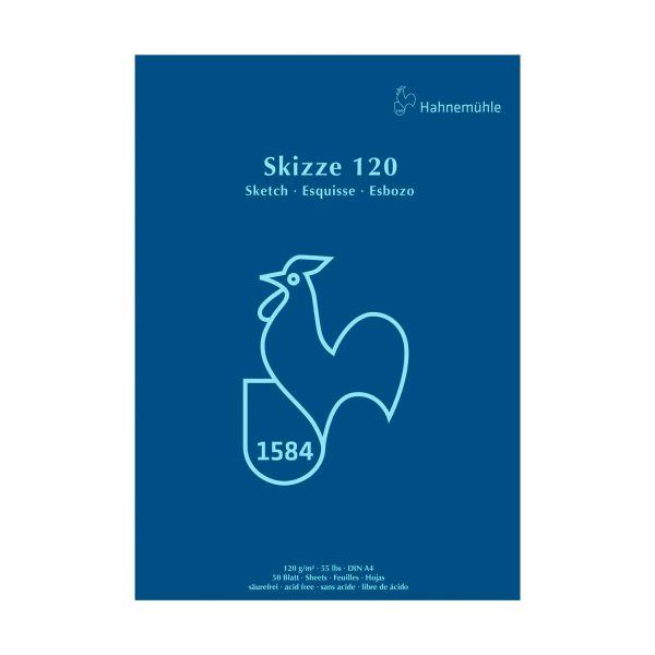 Купить Альбом-склейка для эскизов Hahnemuhle Петух A5 50 л 120 г, HAHNEMUHLE FINEART, Германия