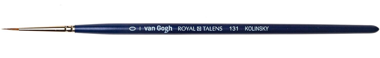 Купить Кисть колонок №0 круглая Van Gogh 131 короткая ручка, Royal Talens, Россия