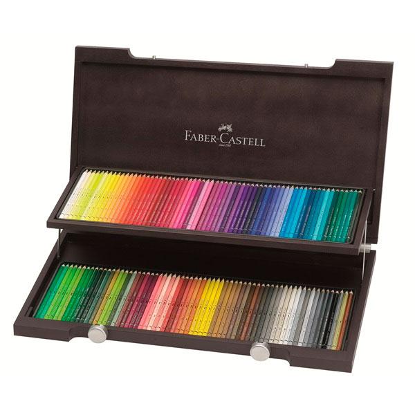 Купить Набор карандашей цветных Faber-castell Polychromos 120 шт проф-ные в дереве, Faber–Сastell, Германия