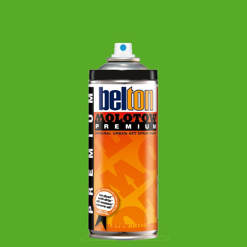 Купить Аэрозольная краска Molotow Premium belton 400 мл #157 cliff green, Германия