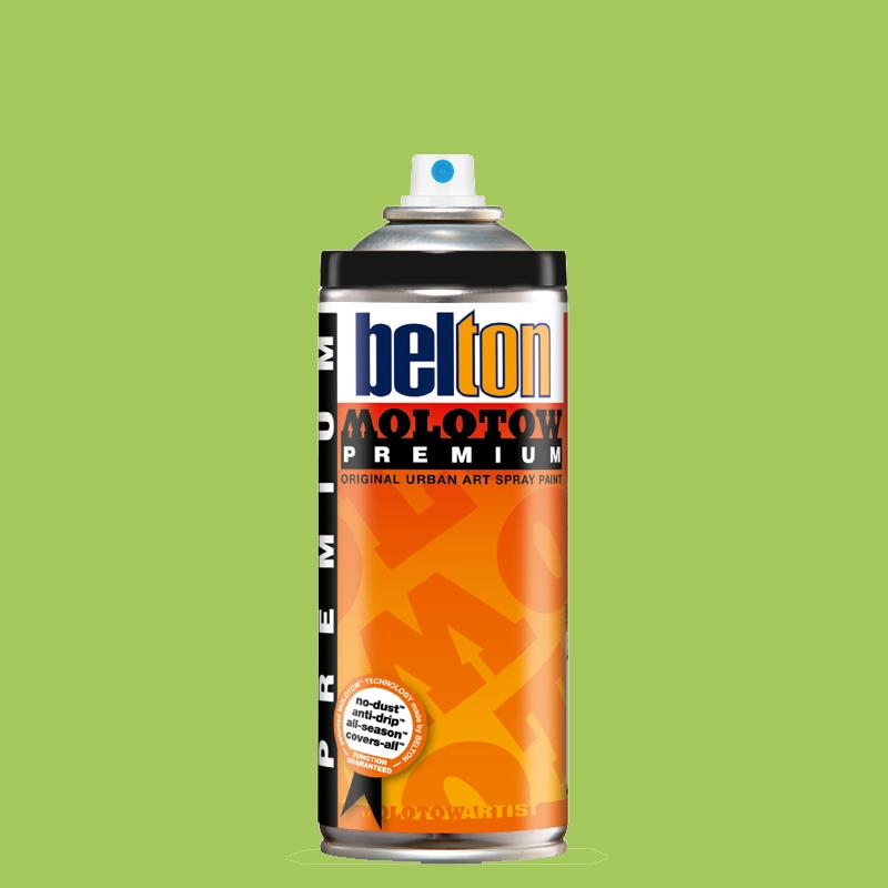 Купить Аэрозольная краска Molotow Premium belton 400 мл #154 cream green, Германия