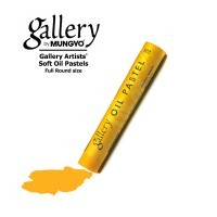 Купить Пастель масляная профессиональная Mungyo, цвет № 204 Золотисто-жёлтый, Южная Корея