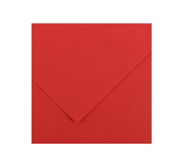 Купить Бумага тонированная Canson Iris Vivaldi А4 240 г №15 красный, Франция
