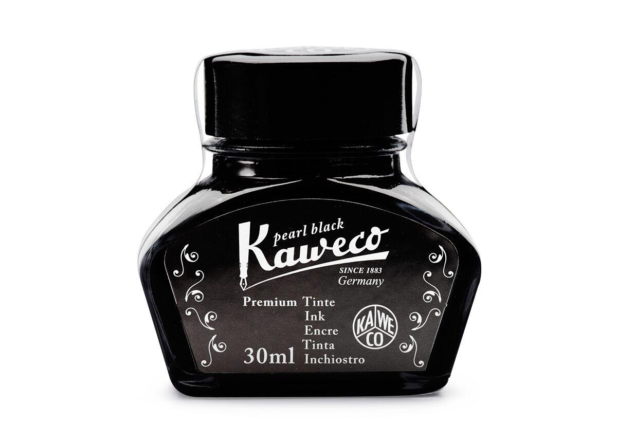 Чернила Kaweco в банке 30 мл Жемчужно-черный, Германия  - купить со скидкой