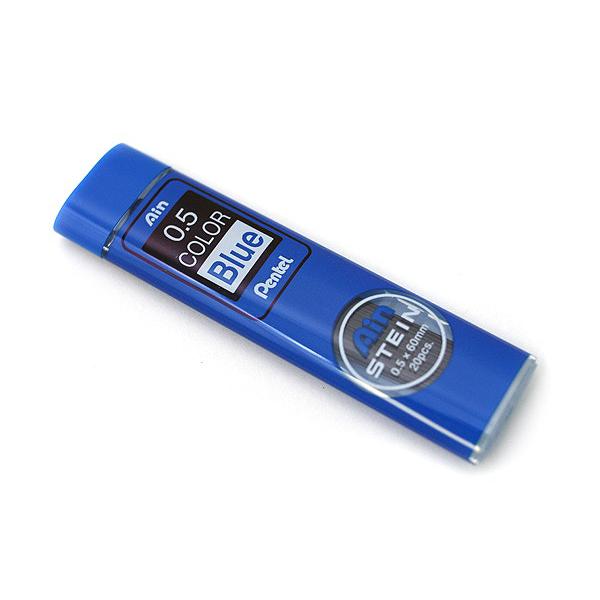 Купить Набор грифелей для механического карандаша Pentel Ain Stein 20 шт 0, 5 мм, цвет синий, Япония