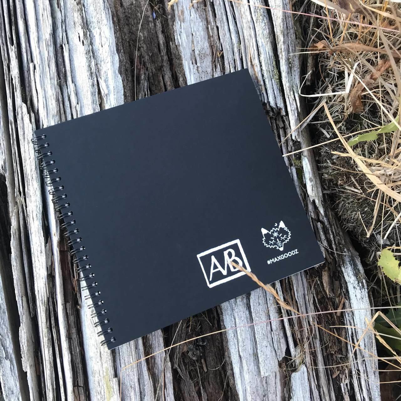 Купить Скетчбук для акрила на пружине Maxgoodz Acryl Pro Mini 21х21 см, 24 л, 300 г, Россия