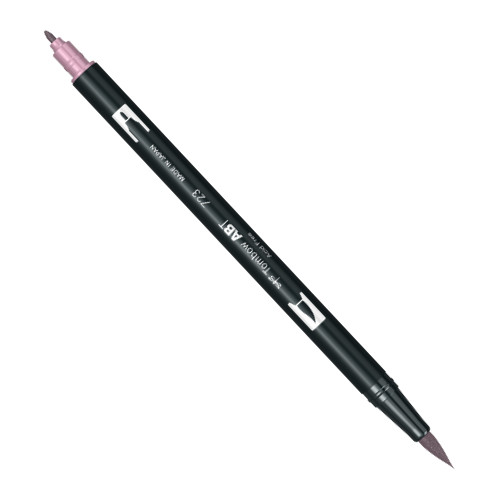 Купить Маркер-кисть двусторонний на водной основе Tombow ABT 723 розовый, Япония