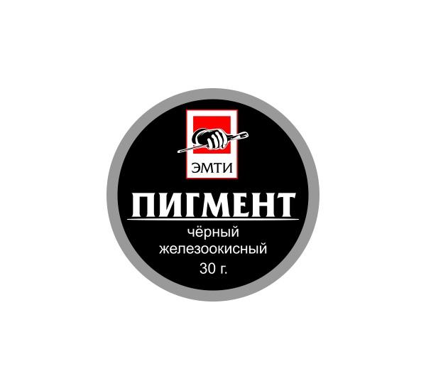 Купить Пигмент Эмти Черный железоокисный 30 г, Альбатрос, Россия