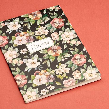 Купить Тетрадь Night Flowers А5 30 л, 100 г, Подписные издания, Россия