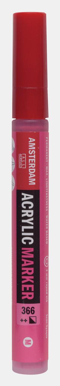 Купить Маркер акриловый Talens Amsterdam 4 мм №366 Розовый, Royal Talens, Россия