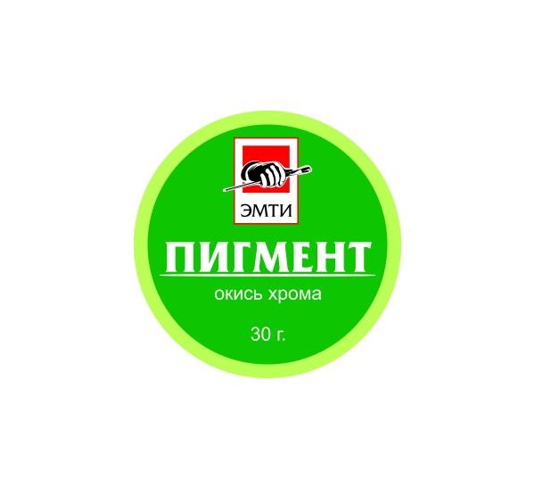 Купить Пигмент Эмти Окись хрома 30 г, Альбатрос, Россия