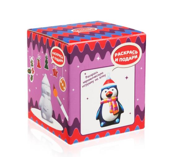 Купить Фигурка для раскрашивания из керамики Пингвинчик , Bumbaram, Россия