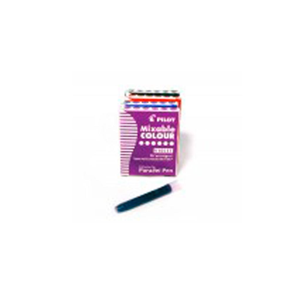 Купить Картриджи для ручек Pilot Parallel Pen 6 шт, цвет фиолетовый, Япония