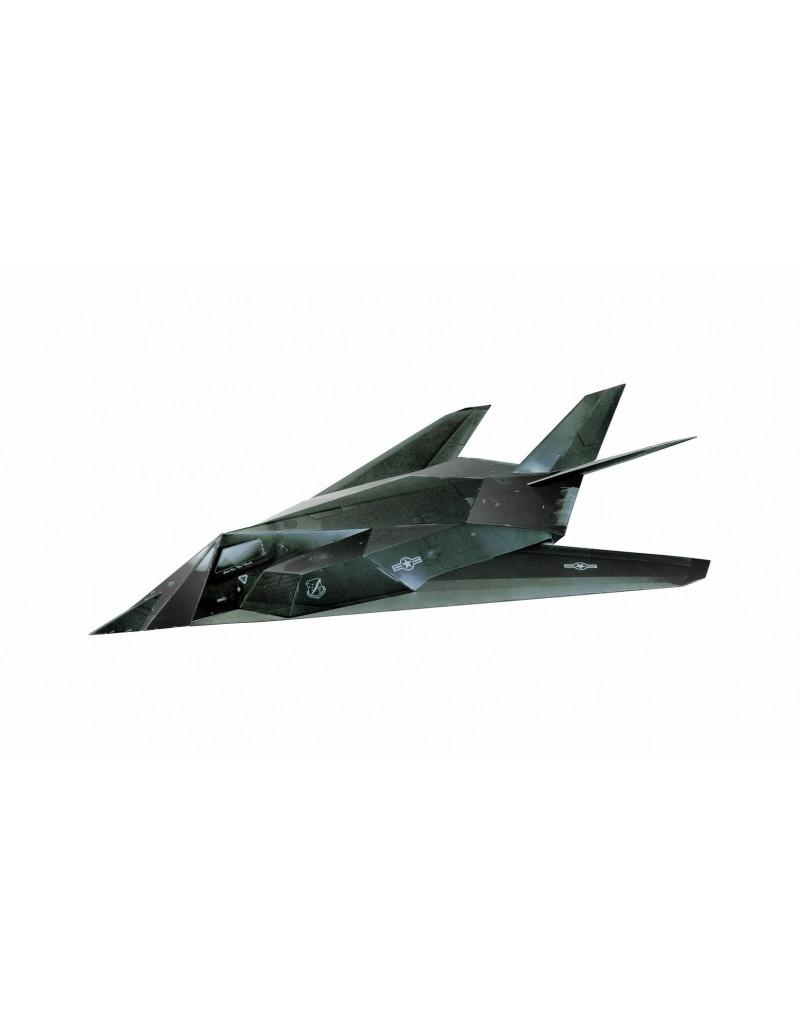 Купить Сборная модель из картона Авиация Малозаметный ударный самолет F-117 , Умная бумага, Россия