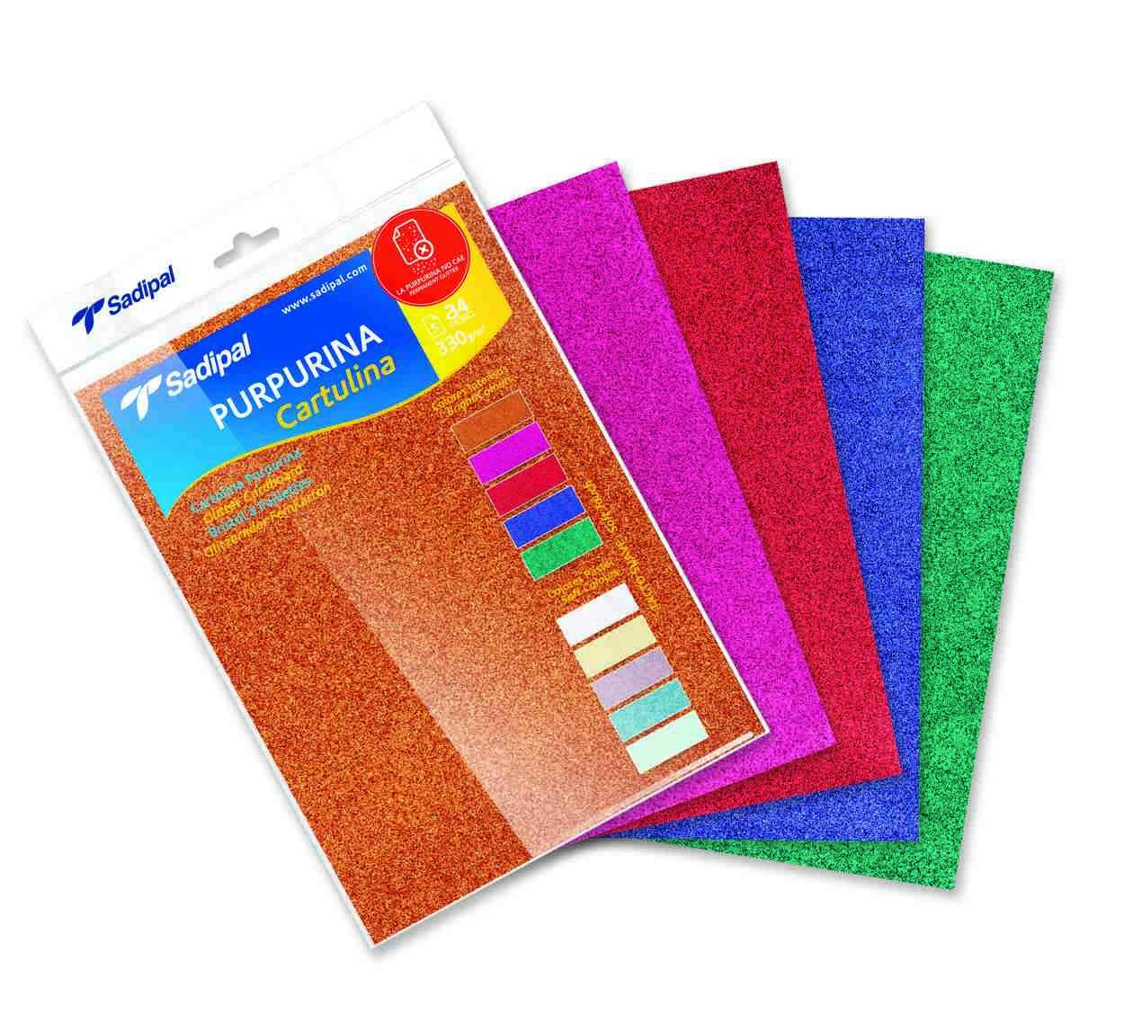 Купить Бумага цветная Sadipal Sirio А4 330 г, Испания