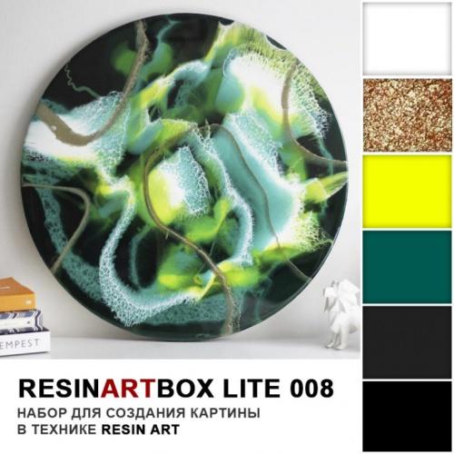 Купить Набор для создания картины из эпоксидной смолы ResinArtBox LITE 008 , Франция