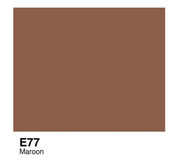 Чернила COPIC E77 (темно-бордовый) фото
