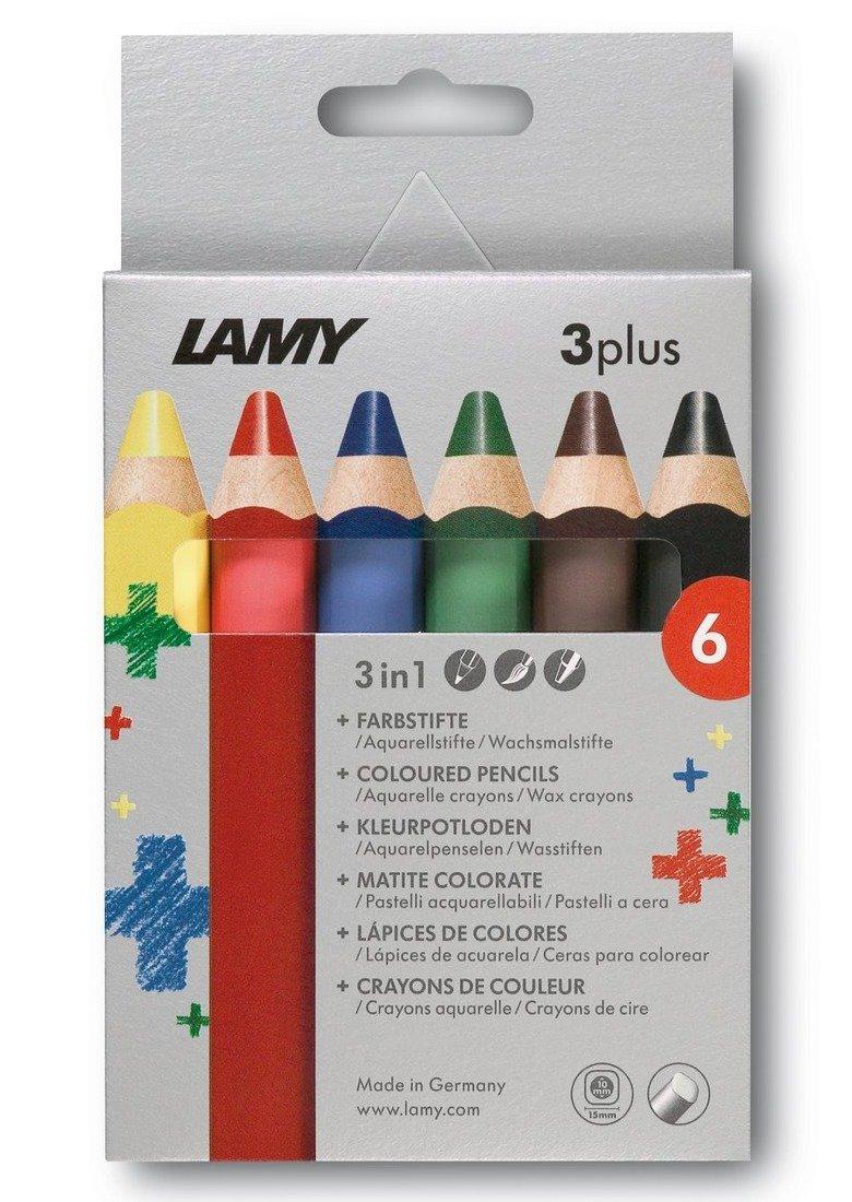"""Набор карандашей цветных LAMY """"3Plus"""" 6 шт., картон"""