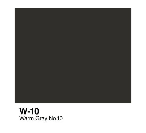 Чернила COPIC W10 (теплый серый, warm gray) фото