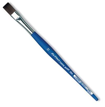 Купить Кисть синтетика №12 плоская Da Vinci 394 короткая ручка, Германия