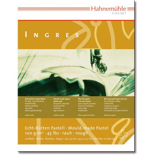 Купить Альбом-склейка для пастели Hahnemuhle Ingres 24х31см 100 г 20 л 9 цветов, HAHNEMUHLE FINEART, Германия