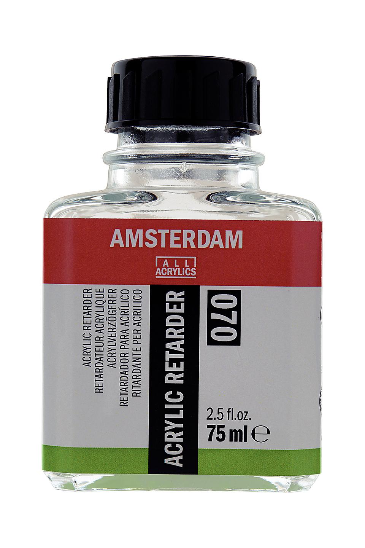 Купить Замедлитель высыхания для акрила Talens Amsterdam №70, 75 мл, Royal Talens