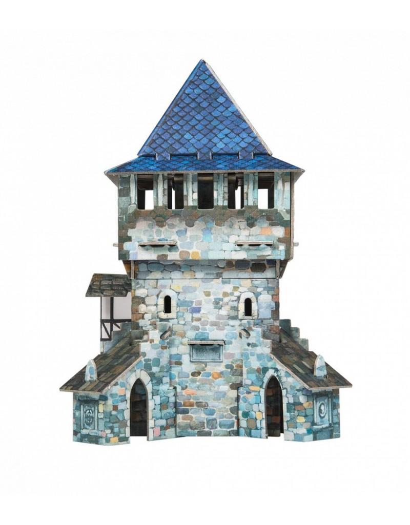 Купить Игровой набор из картона Средневековый город Верхняя башня , Умная бумага, Россия