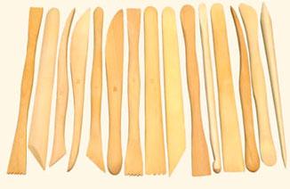 Купить Набор для моделирования стеки деревянные 15 шт 10 см, ХоББитания, Китай