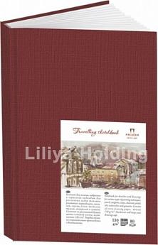 Купить Блокнот для эскизов Лилия Холдинг Travelling sketchbook А4 80 л 130 г Книжный гранатовый, Россия