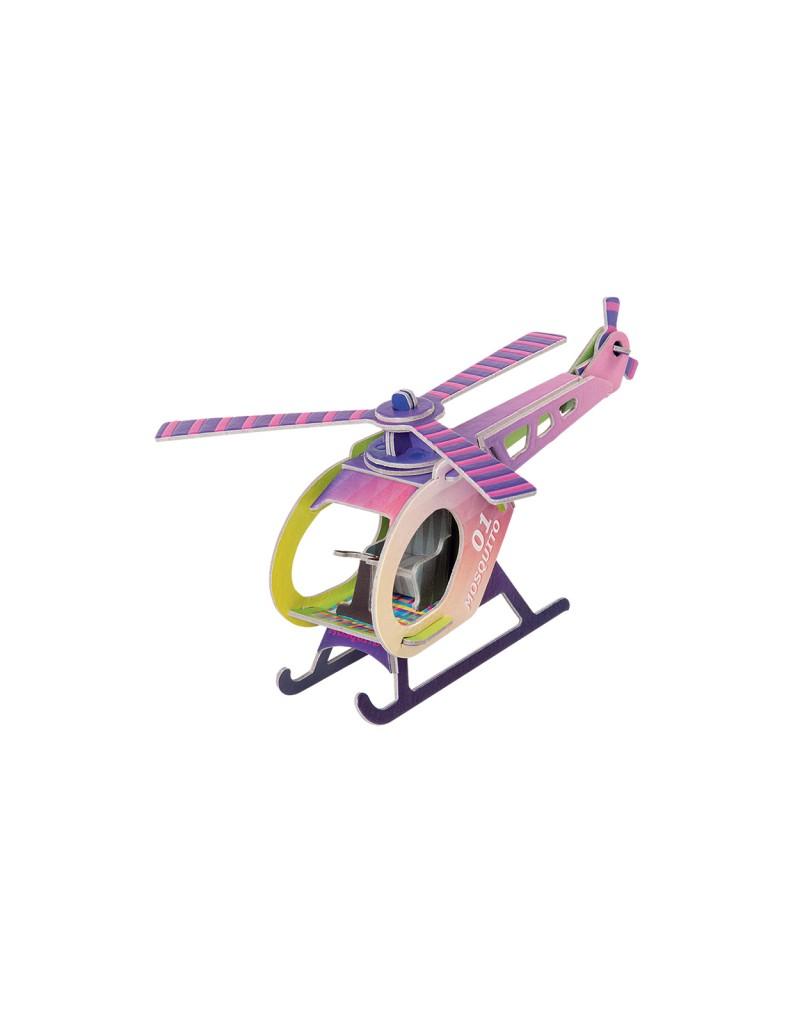 Купить Сборная модель из картона Вертолетик , Умная бумага, Россия