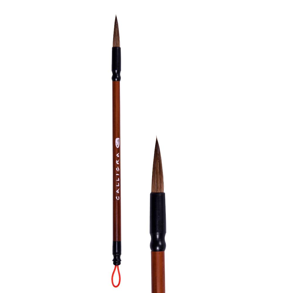 Купить Кисть для каллиграфии из козы/пони/куницы, ворс средней жесткости, диам - 6 мм, CALLIGRA 262-3, Китай