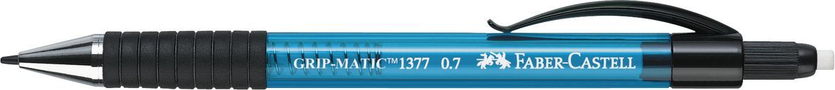 Купить Карандаш механический Faber-Castell GRIP MATIC 1375 0, 7 мм, синий корпус, Faber–Сastell, Германия
