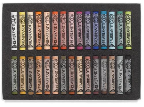Купить Набор сухой пастели Talens Rembrandt Портрет 30 цв, в картонной коробке, Royal Talens
