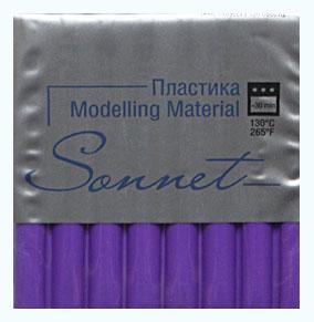 Купить Пластика для запекания Sonnet 56 г Фиолетовый светлый, Сонет, Россия