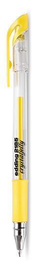 Ручка гелевая Edding 0,7 мм желтая пастель фото