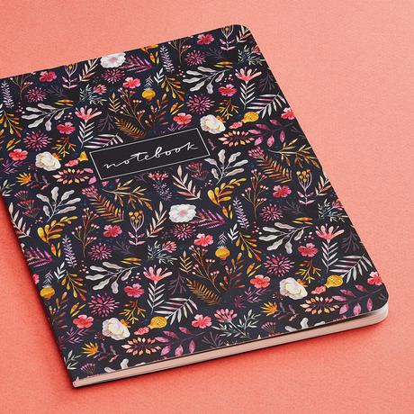 Купить Тетрадь Dark Flowers А5, 24 л., 100 г, Подписные издания, Россия