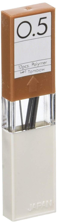 Набор грифелей для механического карандаша Tombow MONO 12 шт 0,5 мм, 3H фото