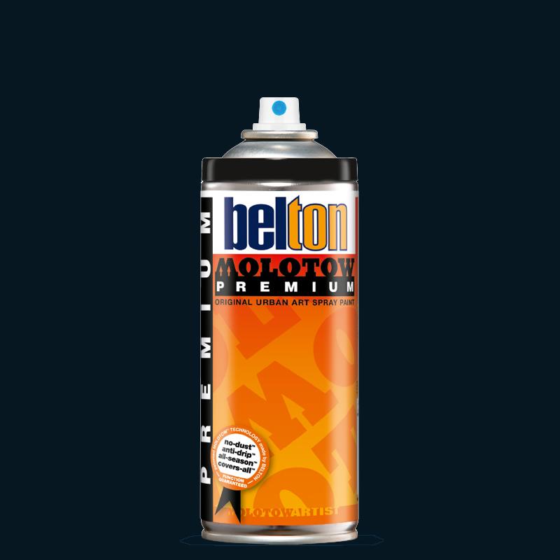 Аэрозольная краска Molotow Premium belton 400 мл #214 TOAST signal black, Германия  - купить со скидкой