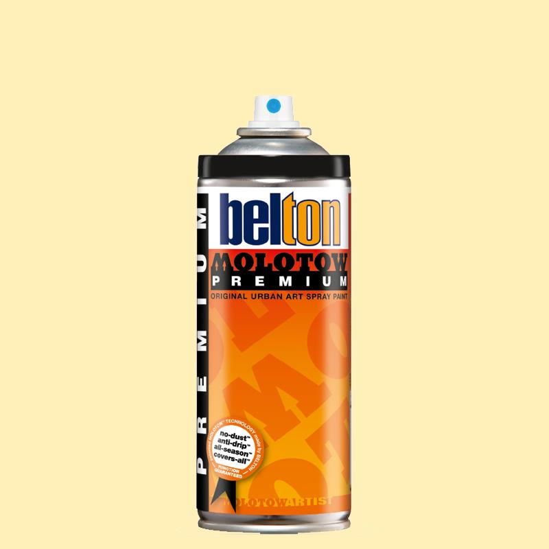 Купить Аэрозольная краска Molotow Premium belton 400 мл #006 Vanille, Германия