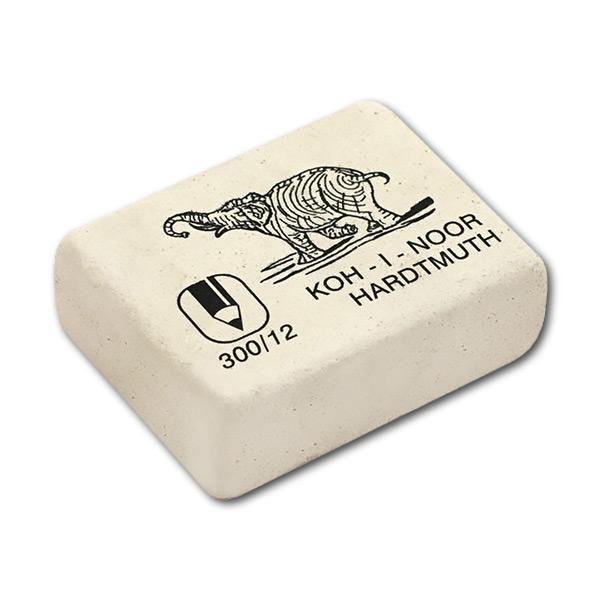 Купить Ластик 46х36х16 мм прямоугольный мягкий из каучука Elephant KOH-I-NOOR, KOH–I–NOOR, Чехия